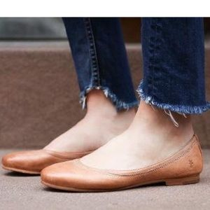 Frye Ballet Carson Flats